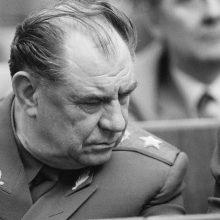 Mirė buvęs sovietų gynybos ministras D. Jazovas