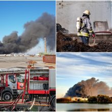 """Teismas imasi 92 tomų """"Ekologistikos"""" gaisro bylos: kaltinami 7 asmenys"""