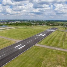 S. Dariaus ir S. Girėno aerodromą planuojama prijungti prie parkavimo įstaigos