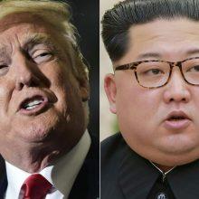 Šiaurės Korėja: Vašingtonas apsėstas sankcijų