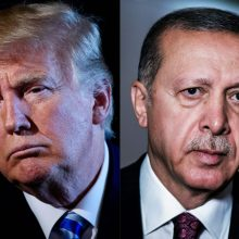 R. T. Erdoganas ir D. Trumpas galutinai sutarė, kada susitiks Vašingtone
