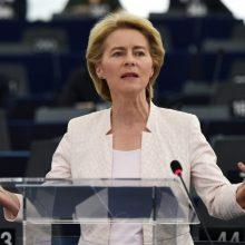 EK pirmininkė: Europa be Sausio 13-osios laisvės gynėjų būtų kitokia