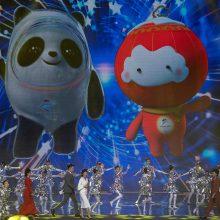 Kinija išsirinko 2022-ųjų žiemos olimpiados talismaną