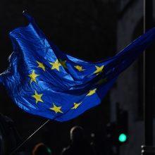 """Europos Parlamentas galutiniu balsavimu uždegs žalią šviesą """"Brexit"""""""