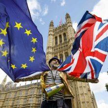 """Europos Parlamentas uždegė žalią šviesą """"Brexit"""""""