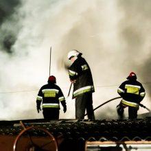 Naktinis gaisras Radviliškyje pareikalavo vyro gyvybės