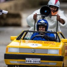 """""""Red Bull muilinių lenktynės"""" koreguos vairuotojų planus: kur uždaromas eismas?"""