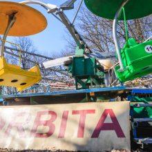 Vytauto parke ardomos karuselės, bet atsiras naujos pramogos