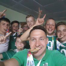 Kauniečių sėkmė Tarptautinėse vaikų žaidynėse: 10 individualių trofėjų ir auksas