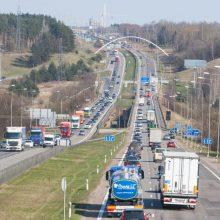 """Ministerija: eismas """"Megos"""" sankryžoje ties Kaunu bus leidžiamas jau šiemet"""