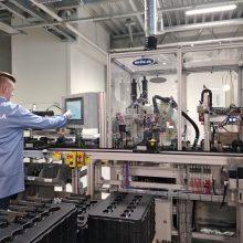 """Užmojai: """"Axioma Metering"""", robotizuota gamykla, planuoja patekti į didžiausių pasaulyje ultragarsinių skaitiklių gamintojų penketuką."""