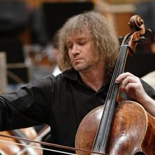 Svečiuose – violončelės virtuozas