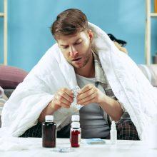 Dar kartą ir visam laikui: kaip atskirti gripą, peršalimą ir COVID-19