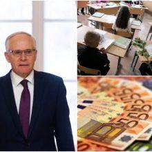 Švietimo ministras apie mokytojų algas: augimas – ne toks, kokio norėčiau