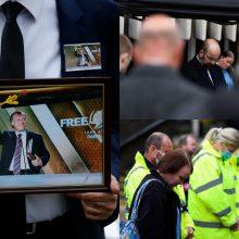 JK lyderiai pagerbė nužudytą parlamentarą