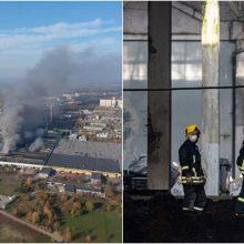 Tyrimas dėl milžiniško gaisro Alytuje: gresia iki šešerių metų nelaisvės
