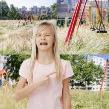 Gyventoja: vaikų žaidimo aikštelė – atnaujinta, bet į ją baisu įžengti