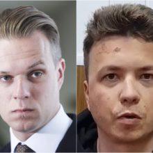 G. Landsbergis apie R. Pratasevičiaus vaizdo pranešimą: matome nubrozdinimus jo veide