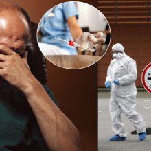 Dėl COVID-19 tyrimo prieš operaciją – galvos skausmas