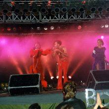 """Svečiai: """"Vilijoje"""" yra koncertavusi vokiečių popklasikos grupė """"Boney M""""."""