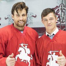 Lietuvos ledo ritulio rinktinėje šiemet – du KHL lygos žaidėjai