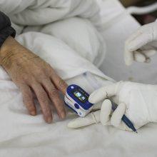 Koronavirusas toliau grėsmingai šienauja gyvybes: mirčių – daugiau nei 1,6 tūkst.