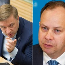 R. Karbauskis palaiko A. Verygą: jo pasitraukimas būtų didelė netektis