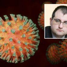 V. Kasiulevičius – apie medikų užsikrėtimus ir mirtis nuo COVID-19