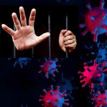 COVID-19 situacija įkalinimo įstaigose: sergančiųjų – beveik dvi dešimtys