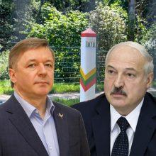 R. Karbauskis siūlo kalbėtis su A. Lukašenka: kuo ilgiau ignoruosime, tuo daugiau problemų sukursime