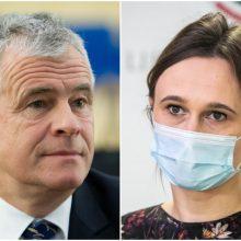 """V. Čmilytė-Nielsen teikia """"valstiečio"""" J. Jaručio kandidatūrą į Seimo vicepirmininkus"""