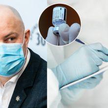A. Veryga apie vakcinų perskirstymą paskutinę minutę: ar jie tik vakar sužinojo, kad Vilniui blogai?