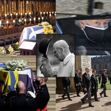 Princo Philipo laidotuvės: pandemijos ribojimai, koreguotas protokolas ir išskirtinis katafalkas
