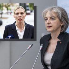 Valdančiųjų sukritikuota A. Skaisgirytė: nesuprantu, apie kokią šlovę kalba A. Bilotaitė