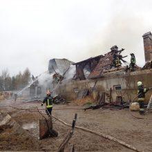 To dar nebuvo: šeimininkas užpuolė degantį jo turtą gelbėjusį savanorį