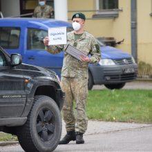 Karo medicinos tarnyboje teritorijoje įrengtas ir COVID-19 ėminių punktas.