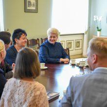 Prezidentė susitiko su Medininkų žudynių aukų artimaisiais