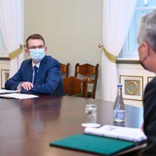 G. Nausėda: A. Dulkio sprendimas sudavė smūgį vakcinos patikimumui