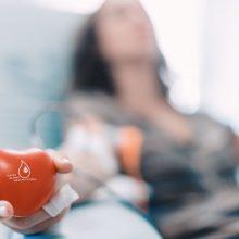Laukiami kraujo donorai: senka atsargos, padėtis – itin kritinė