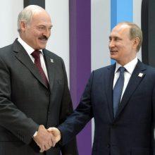 A. Lukašenka: jei kris Baltarusija, tuomet po jos kris ir Rusija