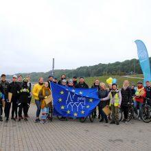 Europos paveldo dienas paminėjo mindami dviračio pedalus