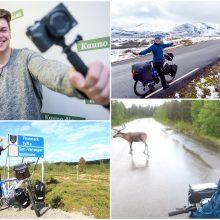 Įveikęs Skandinaviją kaunietis svajoja apie Misūrį: svarbiausia – motyvacija