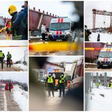 Nelaimė tilto statybvietėje: pateiktos dalinės ekspertų išvados