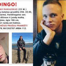 Gruodį dingęs jaunas vyras – vis dar nerastas: teisėsauga linksta prie vienos versijos
