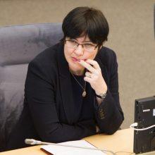 E. Žiobienė kritikuoja baudas už smurtą prieš vaikus, kurios yra iki 100 tūkst. eurų