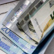 Vyriausybė: minimali alga kitąmet didės iki 607 eurų
