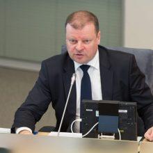 S. Skvernelis pirmadienį kviečiasi derybininkus dėl koalicijos