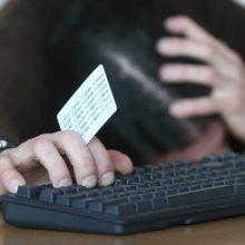 Sukčiai iš bendrovės vadovės sąskaitų pasisavino per 80 tūkst. eurų