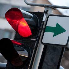 Planuojama atsisakyti žalių rodyklių: kaip pasikeis eismas Vilniuje?