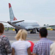 Lietuvoje atšaukti skrydžiai su pilotų streiku nesusiję